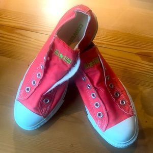 Converse All Star slip on sneakers